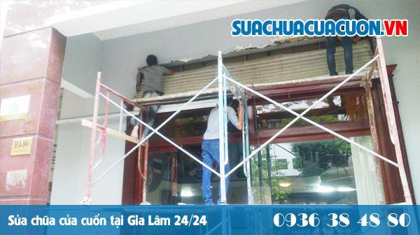 Sửa cửa cuốn tại Gia Lâm