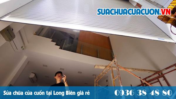 Sửa cửa cuốn tại Long Biên