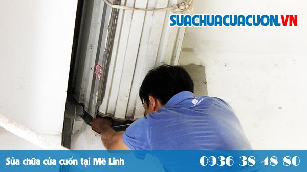 Sửa cửa cuốn tại Mê Linh