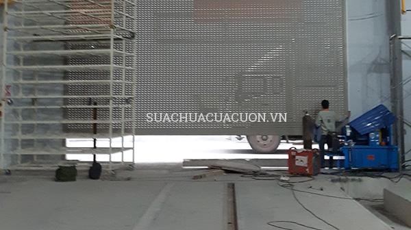 Sửa mô tơ cửa cuốn khu công nghiệp Bắc Ninh