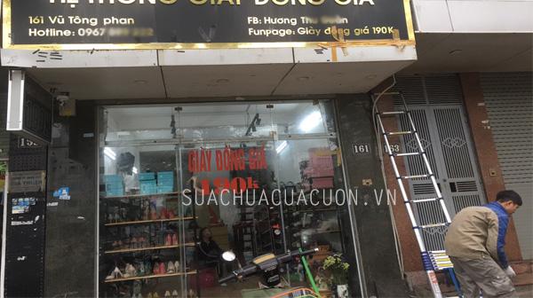 Sửa cửa cuốn tại 161 Vũ Tông Phan