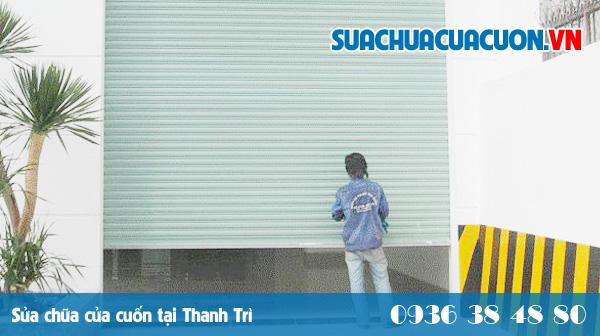 Sửa cửa cuốn giá rẻ tại Thanh Trì