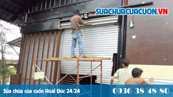 Sửa chữa cửa cuốn tại Phú Xuyên