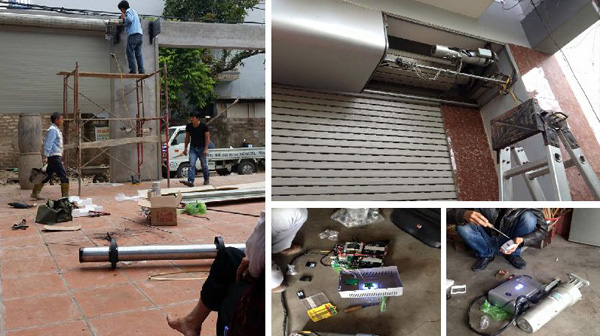Dịch vụ sửa cửa cuốn tại Đà Nẵng
