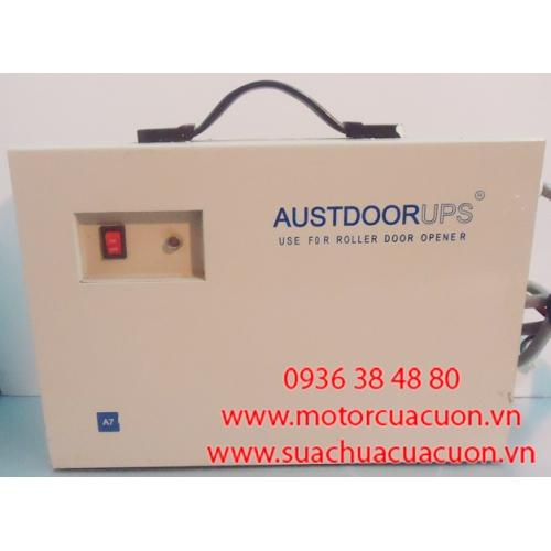 Lưu điện cửa cuốn Austdoor A7
