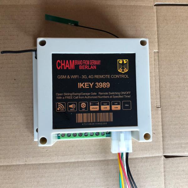 Bộ điều khiển cửa cuốn bằng điện thoại Ikey 3989
